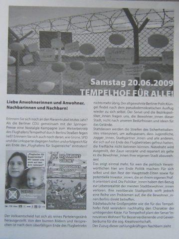 Anwohnerzeitung