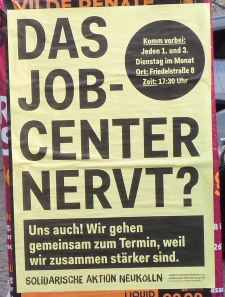 Jobcenter nervt