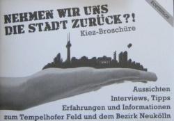 Kiez-Broschüre Reclaim Tempelhof