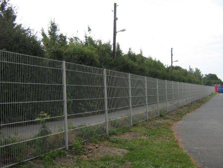 Neuer Zaun Tempelhofer Feld