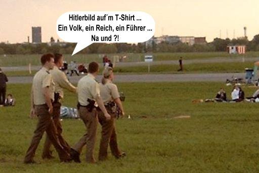 Polizei Pfingsten THF