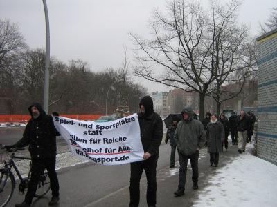 Zaunspaziergang am 15.2.2009