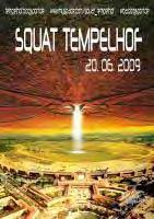 Plakat Squat Tempelhof 20.06.2009