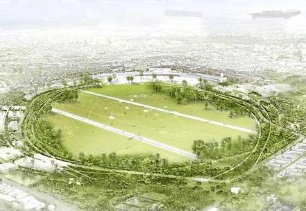 Idee Parklandschaft Tempelhof