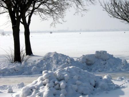 Schneeidylle Tempelhofer Feld