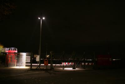 Kontrollpunkt Oderstrasse Tempelhofer Feld