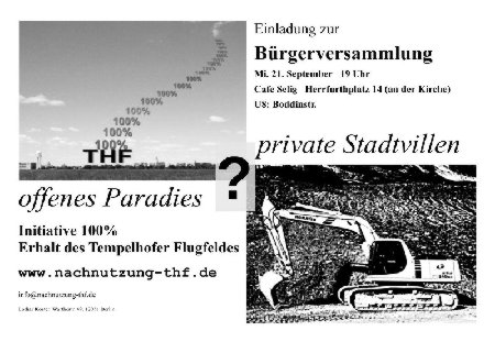 Brgerversammlung 21.9.2011