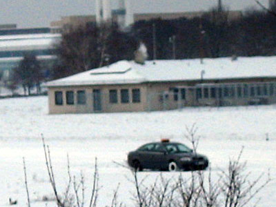 Wachschutz im Schnee
